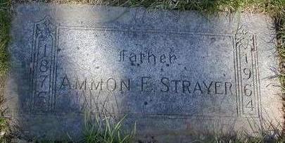 STRAYER, AMMON EDWARD - Pottawattamie County, Iowa | AMMON EDWARD STRAYER