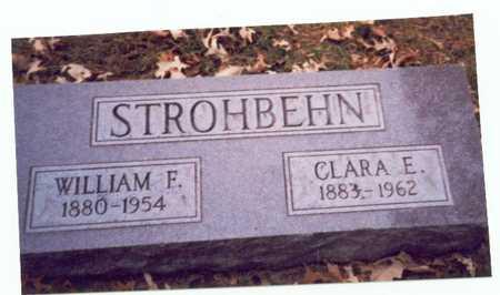 STROHBEHN, CLARA E. - Pottawattamie County, Iowa | CLARA E. STROHBEHN