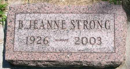 STRONG, B. JEANNE - Pottawattamie County, Iowa | B. JEANNE STRONG