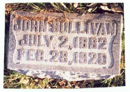 SULLIVAN, JOHN - Pottawattamie County, Iowa | JOHN SULLIVAN