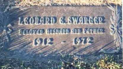 SWANGER, LEONARD E. - Pottawattamie County, Iowa | LEONARD E. SWANGER