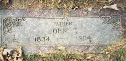 SWEENEY, JOHN T. - Pottawattamie County, Iowa   JOHN T. SWEENEY