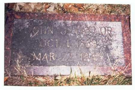 TAYLOR, JOHN J. - Pottawattamie County, Iowa   JOHN J. TAYLOR