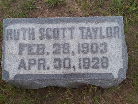 TAYLOR, RUTH SCOTT - Pottawattamie County, Iowa | RUTH SCOTT TAYLOR