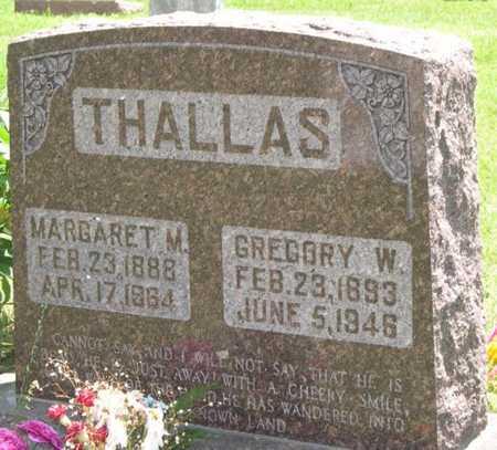THALLAS, MARGARET M. - Pottawattamie County, Iowa | MARGARET M. THALLAS