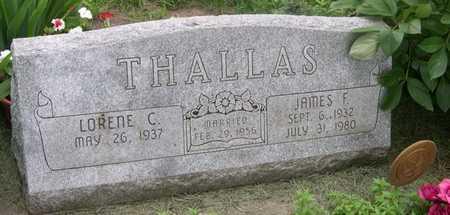 THALLAS, LORENE C. - Pottawattamie County, Iowa | LORENE C. THALLAS
