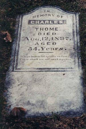 THOME, CHARLES - Pottawattamie County, Iowa | CHARLES THOME