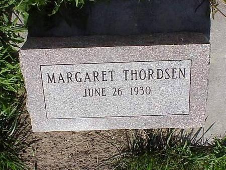 THORDSEN, MARGARET - Pottawattamie County, Iowa | MARGARET THORDSEN