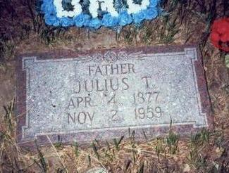 TIARKS, JULIUS T. - Pottawattamie County, Iowa | JULIUS T. TIARKS
