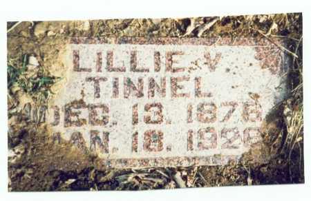 BARNES TINNEL, LILLIE VIOLA - Pottawattamie County, Iowa   LILLIE VIOLA BARNES TINNEL
