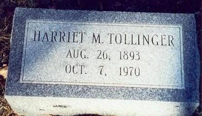 TOLLINGER, HARRIET M. - Pottawattamie County, Iowa | HARRIET M. TOLLINGER