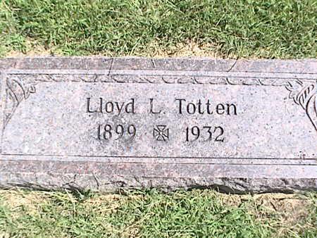 TOTTEN, LLOYD LUTHER - Pottawattamie County, Iowa   LLOYD LUTHER TOTTEN