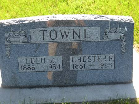 TOWNE, CHESTER R. - Pottawattamie County, Iowa | CHESTER R. TOWNE
