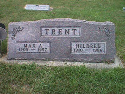 TRENT, HILDRED - Pottawattamie County, Iowa | HILDRED TRENT