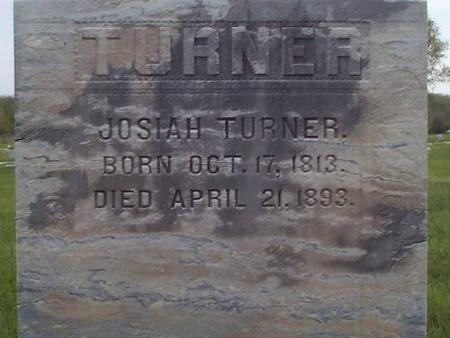 TURNER, JOSIAH - Pottawattamie County, Iowa | JOSIAH TURNER