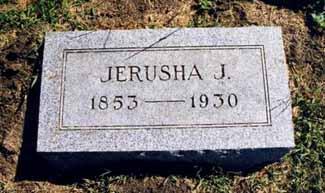 TURNER, JERUSHA JANE - Pottawattamie County, Iowa   JERUSHA JANE TURNER