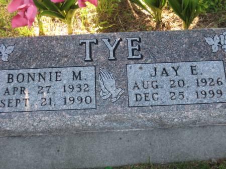 TYE, BONNIE M. - Pottawattamie County, Iowa | BONNIE M. TYE