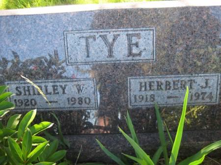 TYE, SHIRLEY W. - Pottawattamie County, Iowa | SHIRLEY W. TYE