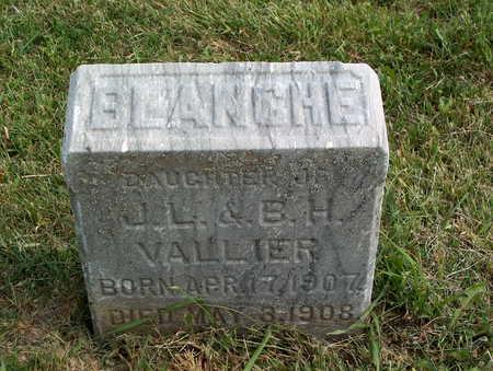 VALLIER, BLANCHE - Pottawattamie County, Iowa | BLANCHE VALLIER