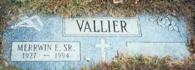 VALLIER, MERRWIN E. SR. - Pottawattamie County, Iowa   MERRWIN E. SR. VALLIER