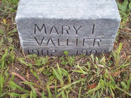 VALLIER, MARY L. - Pottawattamie County, Iowa | MARY L. VALLIER