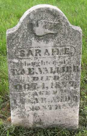 VALLIER, SARAH E. - Pottawattamie County, Iowa | SARAH E. VALLIER