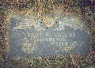 VALLIER, TERRY W. - Pottawattamie County, Iowa   TERRY W. VALLIER