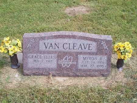VAN CLEAVE, GRACE ELLEN - Pottawattamie County, Iowa | GRACE ELLEN VAN CLEAVE