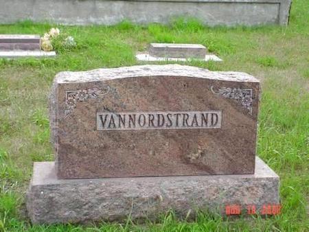 VAN NORDSTRAND, MILDRED M. & VERTICE M. - Pottawattamie County, Iowa   MILDRED M. & VERTICE M. VAN NORDSTRAND