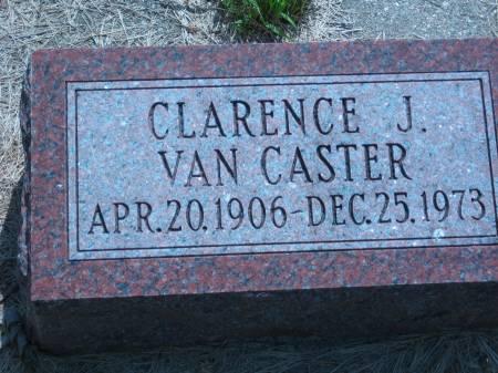 VAN CASTER, CLARENCE J. - Pottawattamie County, Iowa | CLARENCE J. VAN CASTER