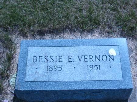 VERNON, BESSIE E. - Pottawattamie County, Iowa | BESSIE E. VERNON