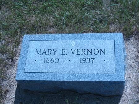 VERNON, MARY E. - Pottawattamie County, Iowa | MARY E. VERNON