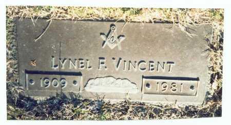 VINCENT, LYNEL F. - Pottawattamie County, Iowa   LYNEL F. VINCENT