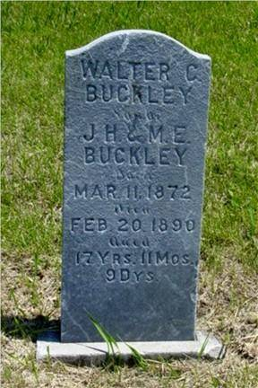 BUCKLEY, WALTER C. - Pottawattamie County, Iowa | WALTER C. BUCKLEY