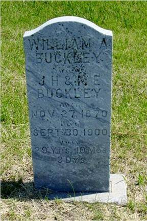 BUCKLEY, WILLIAM A. - Pottawattamie County, Iowa | WILLIAM A. BUCKLEY