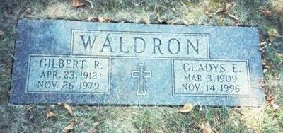 WALDRON, GILBERT R. - Pottawattamie County, Iowa | GILBERT R. WALDRON