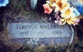 WALDRON, LEROY C. - Pottawattamie County, Iowa | LEROY C. WALDRON