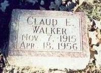WALKER, CLAUD ELMER - Pottawattamie County, Iowa | CLAUD ELMER WALKER