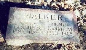 FELTON WALKER, CARRIE M. - Pottawattamie County, Iowa | CARRIE M. FELTON WALKER