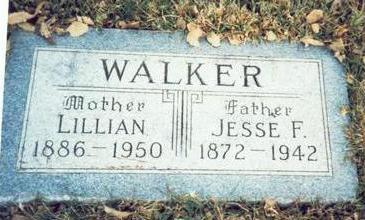 WALKER, JESSE F. - Pottawattamie County, Iowa   JESSE F. WALKER