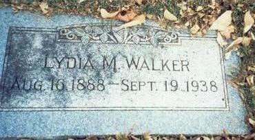 WALKER, LYDIA M. - Pottawattamie County, Iowa | LYDIA M. WALKER