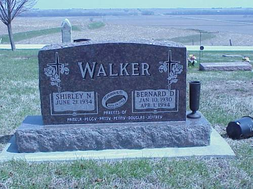 WALKER, SHIRLEY N. & BERNARD D. - Pottawattamie County, Iowa | SHIRLEY N. & BERNARD D. WALKER