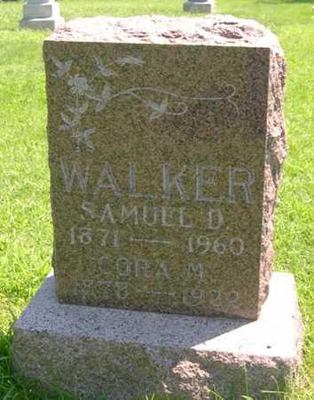 WALKER, CORA M. - Pottawattamie County, Iowa | CORA M. WALKER