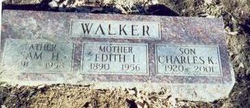 FELTON WALKER, EDITH IDA - Pottawattamie County, Iowa | EDITH IDA FELTON WALKER