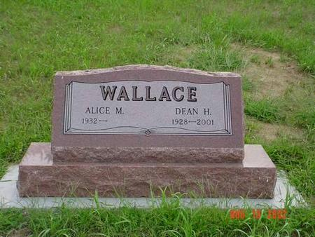 WALLACE, ALICE M. & DEAN H. - Pottawattamie County, Iowa | ALICE M. & DEAN H. WALLACE
