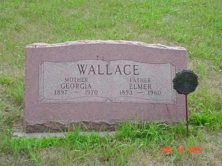 WALLACE, GEORGIA & ELMER - Pottawattamie County, Iowa | GEORGIA & ELMER WALLACE