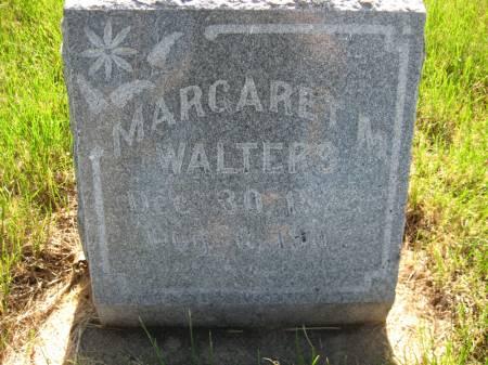 WALTERS, MARGARET M. - Pottawattamie County, Iowa   MARGARET M. WALTERS