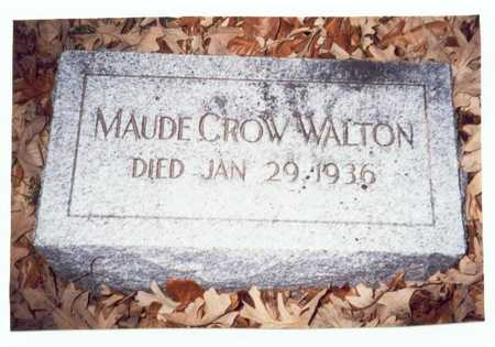 WALTON, MAUDE - Pottawattamie County, Iowa | MAUDE WALTON