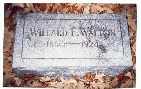 WALTON, WILLARD E. - Pottawattamie County, Iowa | WILLARD E. WALTON