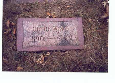 WARD, CLYDE - Pottawattamie County, Iowa   CLYDE WARD
